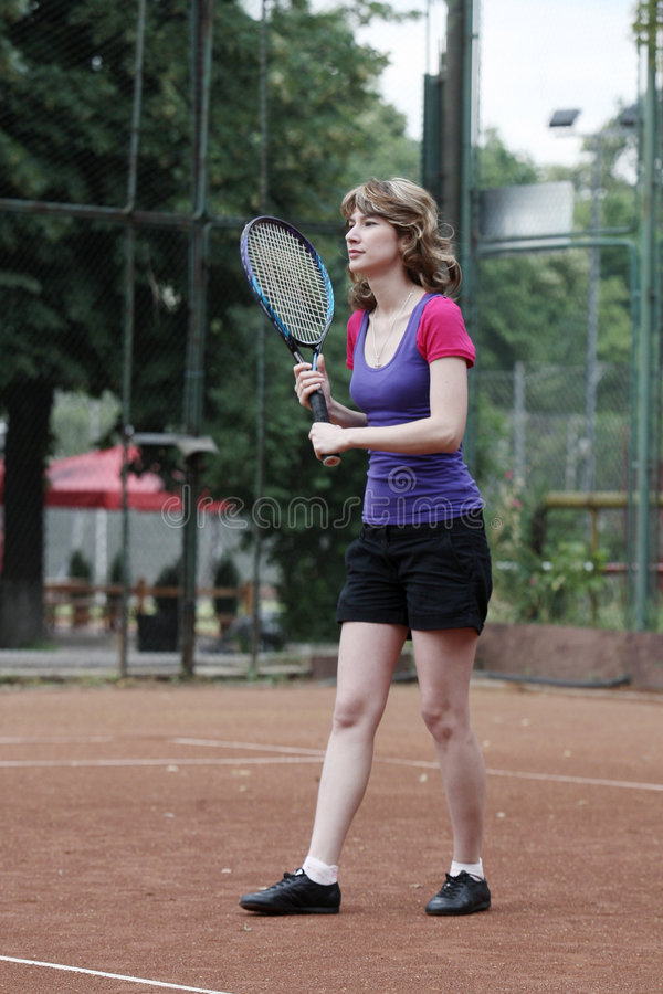Download Tennis stock photo. Image of player, girl, coaching, competitor - 5571260