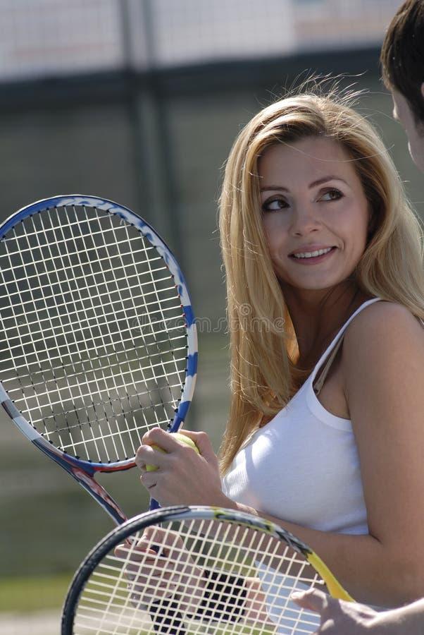 Tennis stock foto's