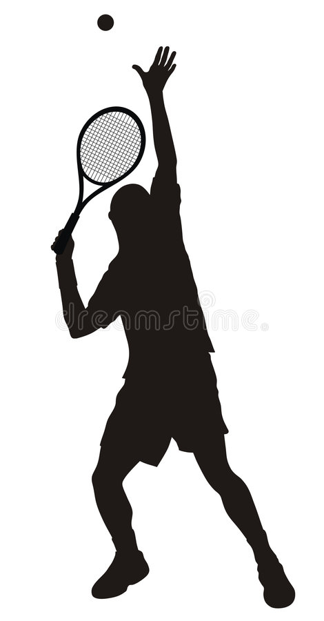 Download Tennis stock vector. Illustration of illustration, athletics - 6026206