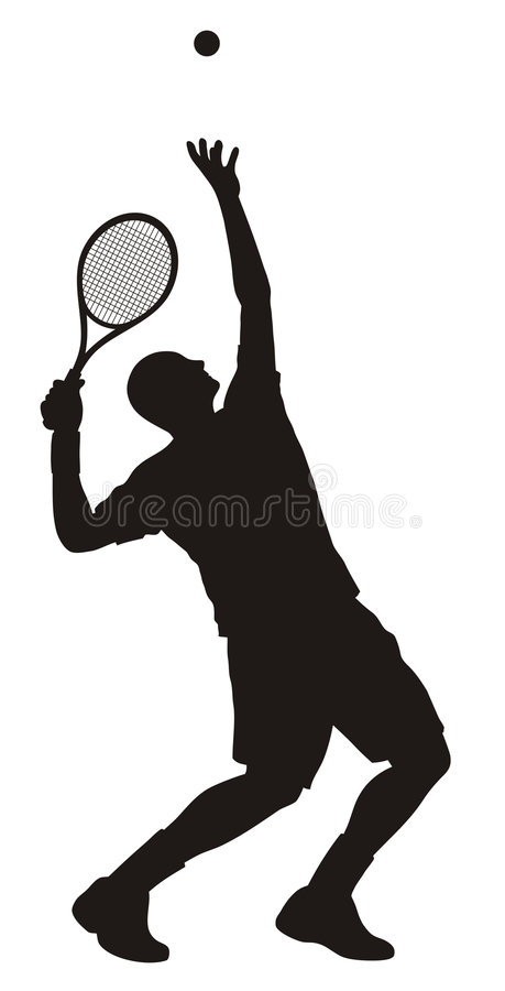 Download Tennis stock vector. Illustration of athletics, contest - 6026288