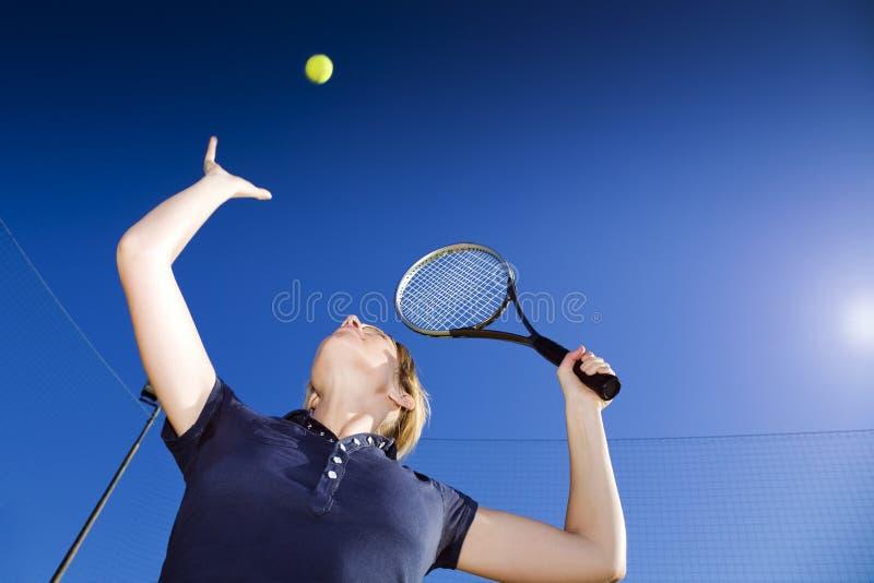 Tennis stockbild