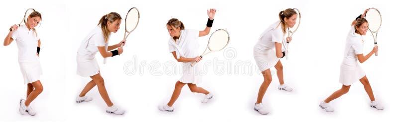tennis stock illustrationer
