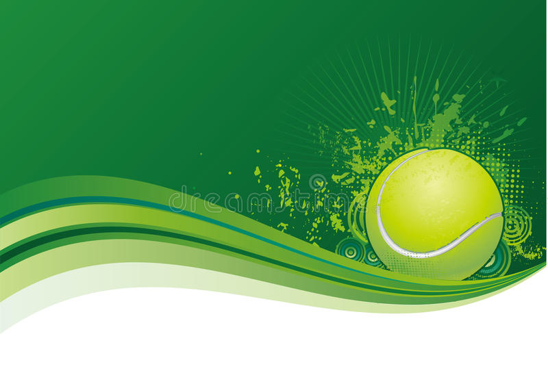 tennis achtergrond