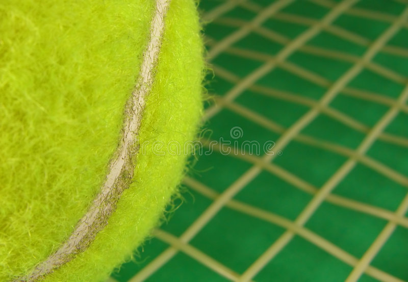 Tennis Ad Stock Photography