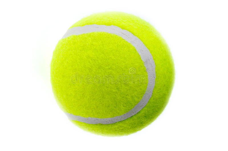 A tennis ball royalty free stock image