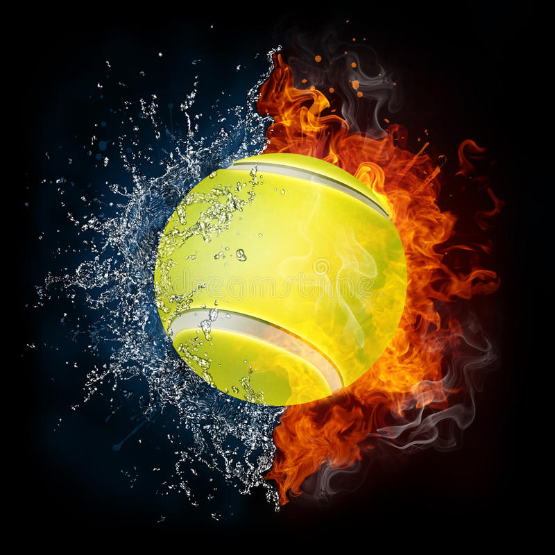 Download Tennis Ball stock illustration. Illustration of olympic - 19793859