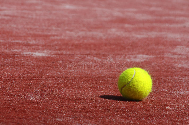 Download Tennis ball stock image. Image of match, outdoor, play - 24526133