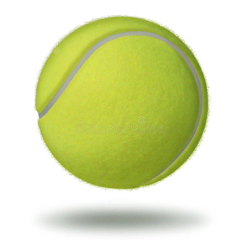 Download Tennis Ball stock illustration. Image of floating, sphere - 28666780