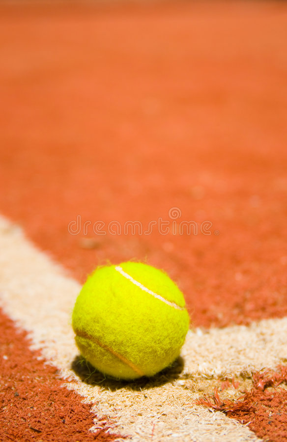 Download Tennis ball stock image. Image of athletics, match, exercise - 5856625