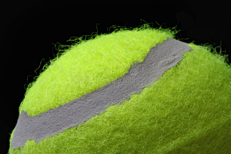 Download Tennis Ball stock image. Image of yellow, macro, sport - 7799863