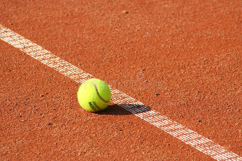 Download Tennis ball stock image. Image of detail, sportground - 8401203