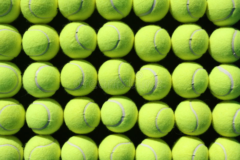Tennis ball background royalty free stock photos