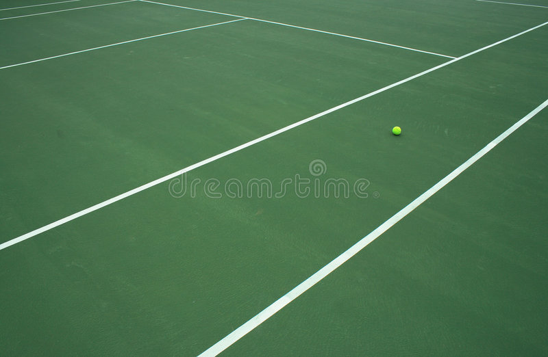 Download Tennis Ball On Court 4 stock photo. Image of healthy, leisure - 2162676