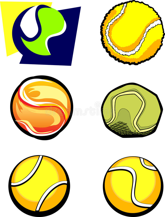 Download Tennis Ball Graphic Vector Images Stock Vector - Image: 11520268