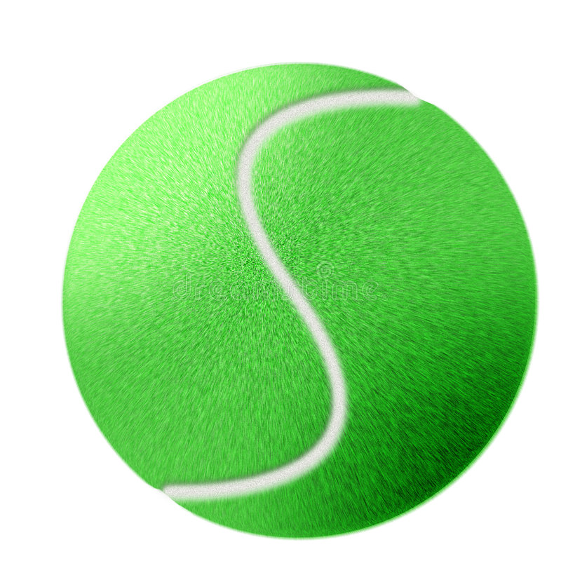 Download Tennis Ball Illustration stock illustration. Illustration of tennisball - 3055933