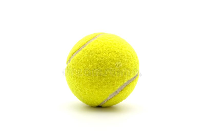 A Tennis Ball isolated. A Tennis Ball isolated on white background royalty free stock photography