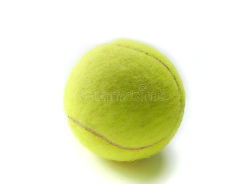 Tennis ball macro isolated royalty free stock photography