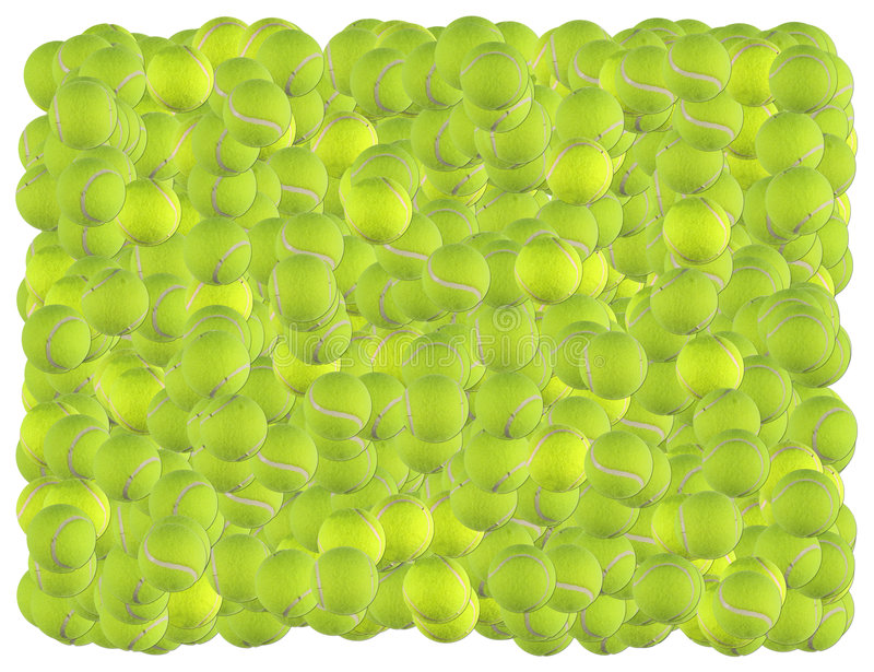 Tennis balls background stock image