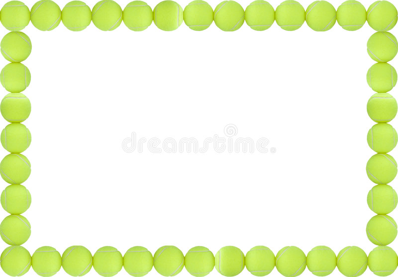 tennis balls frame easy - photo #20