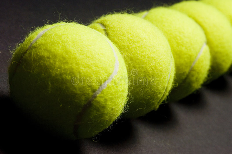 Download Tennis Balls Macro 2 Stock Image - Image: 207471
