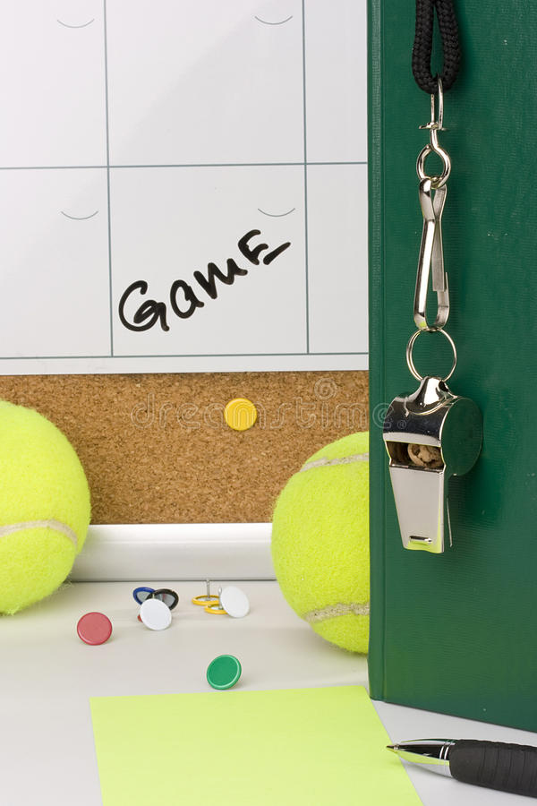 Download Tennis coach stock image. Image of background, green - 15941949