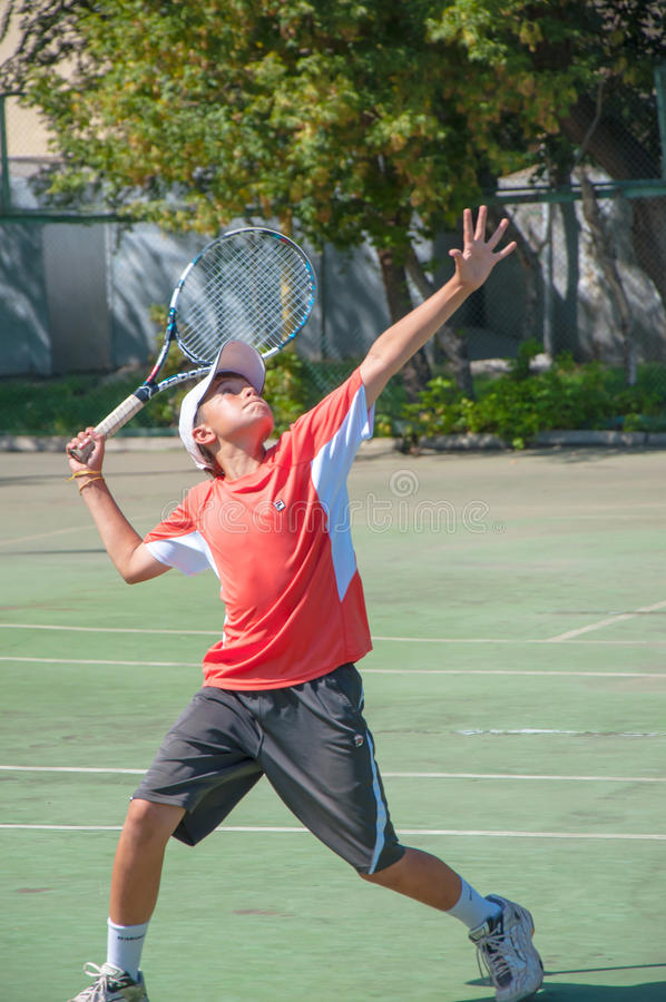 Free Tennis Competition Royalty Free Stock Photo - 33425235