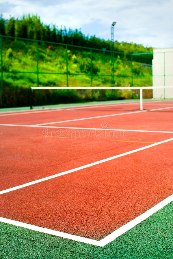 Download Tennis court stock image. Image of club, surface, chelem - 14454101