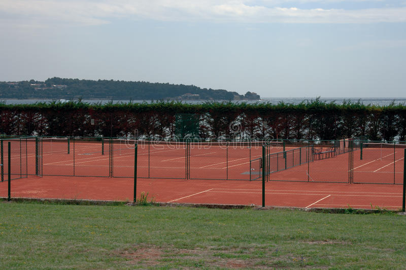 Download Tennis court stock photo. Image of health, string, active - 21268108