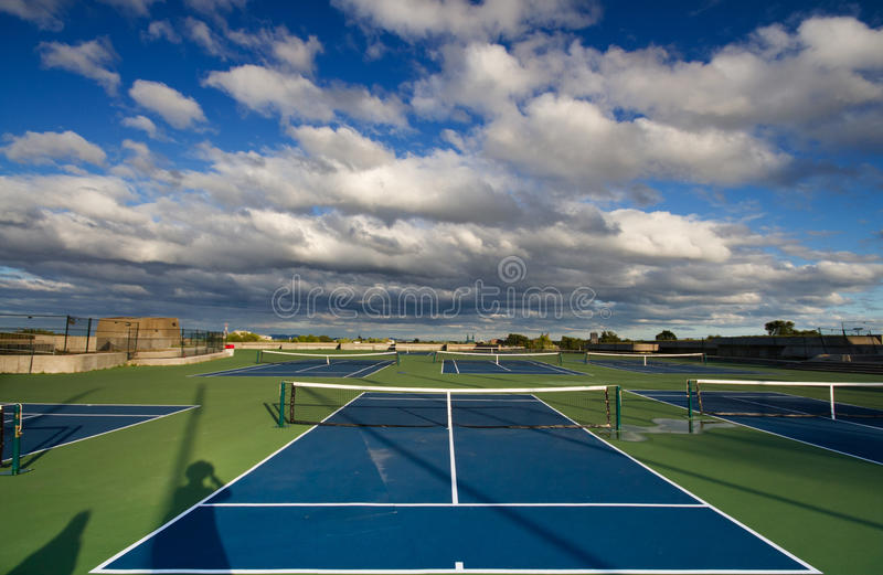 Download Tennis court stock photo. Image of clouds, recreation - 26559588