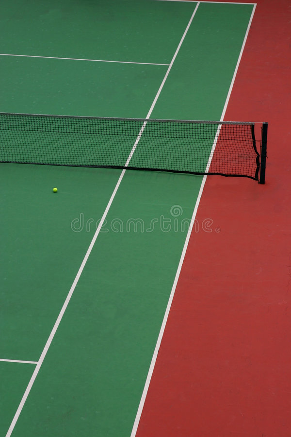 Download Tennis court stock image. Image of ball, sport, nobody - 5872109