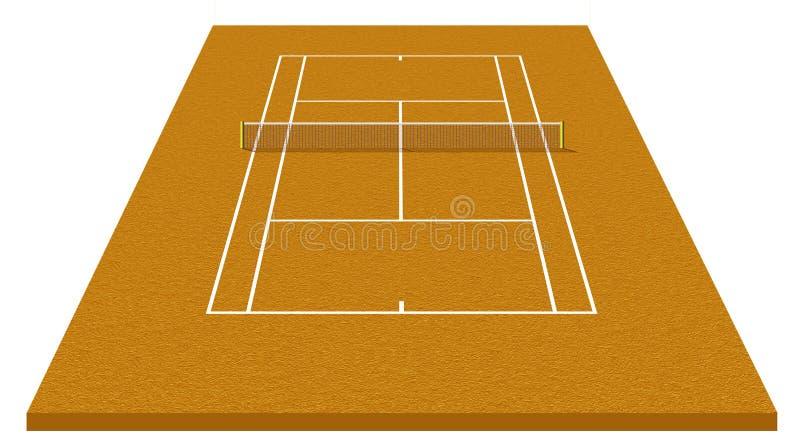 Download Tennis court stock illustration. Image of open, tennis - 9553493