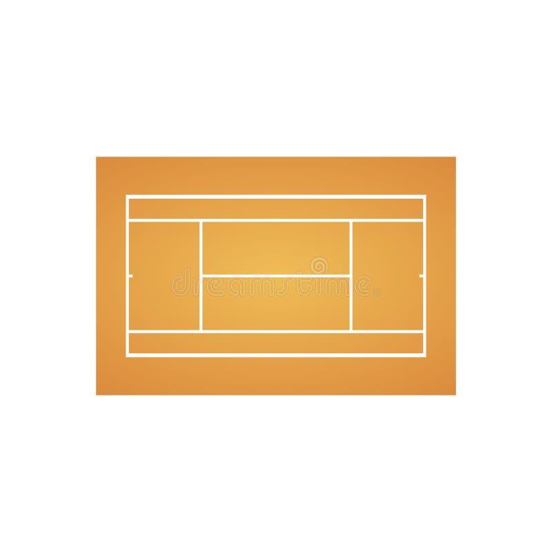 Tennis court background. Sport concept. Vector eps10 stock illustration