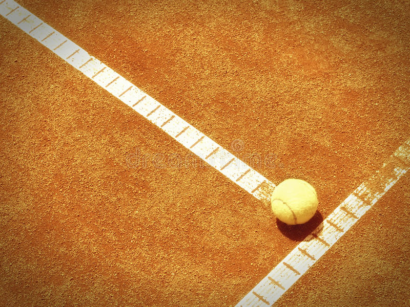 Download Tennis Court Line With Ball (138) Stock Image - Image: 38829695