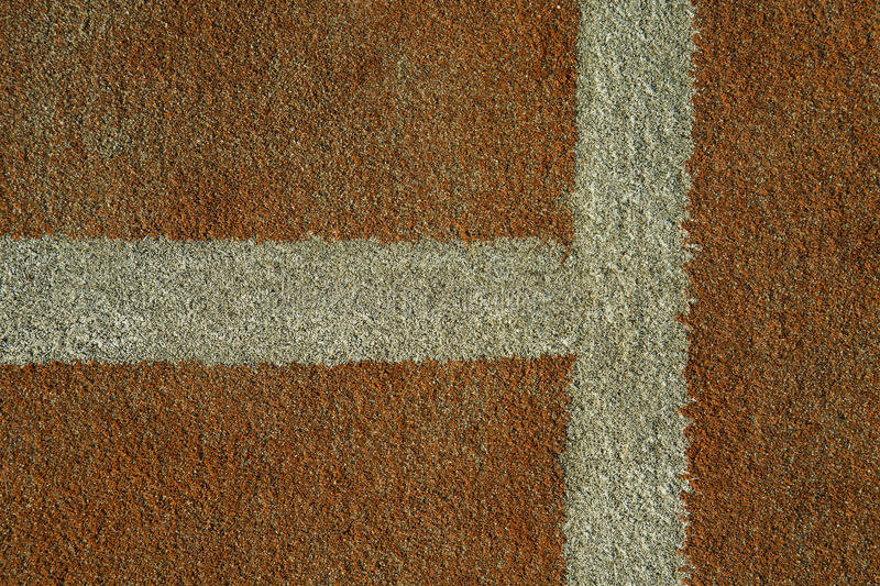 the tennis court line royalty free stock photo