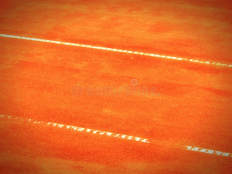 Tennis Court Line (283) Royalty Free Stock Photo