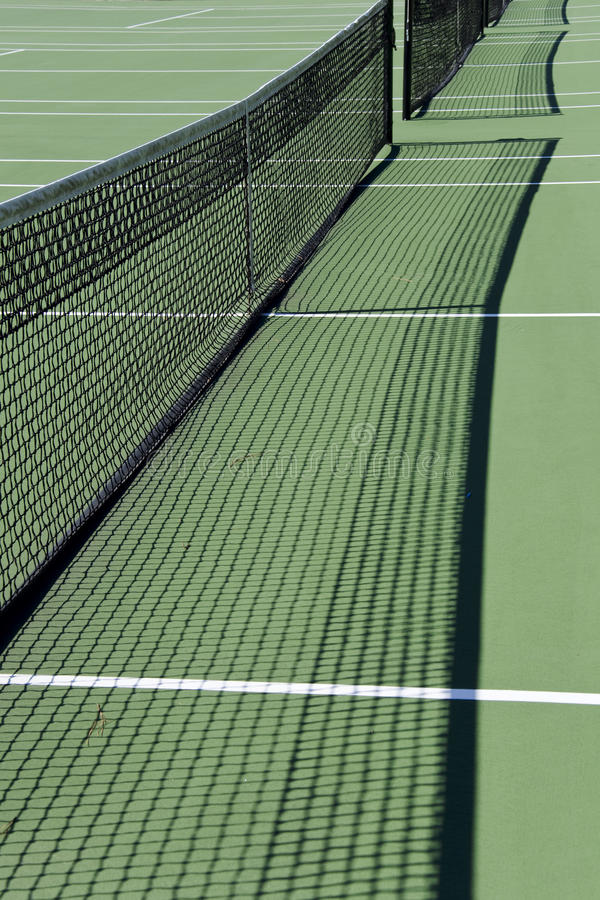 Download Tennis court nets stock photo. Image of tennis, individual - 18340172