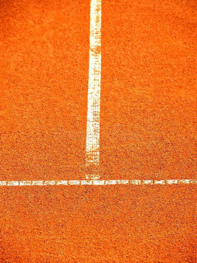 Download Tennis Court With T-line (266) Stock Photo - Image: 38182132
