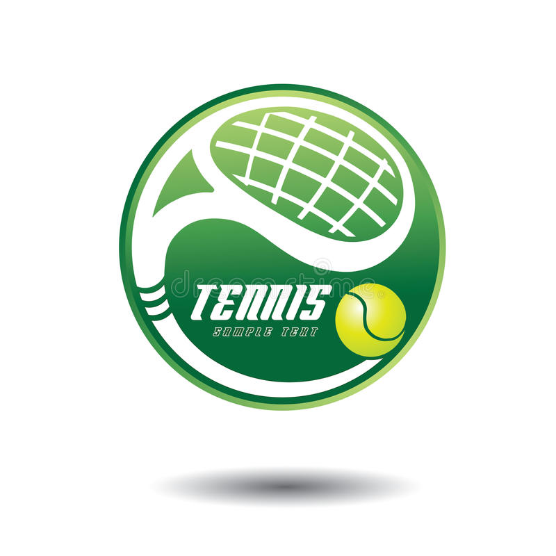 Download Tennis cup stock vector. Image of mark, racket, circle - 26562475
