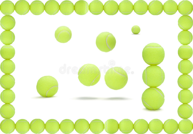 Download Tennis de billes illustration stock. Illustration du lumineux - 8655201