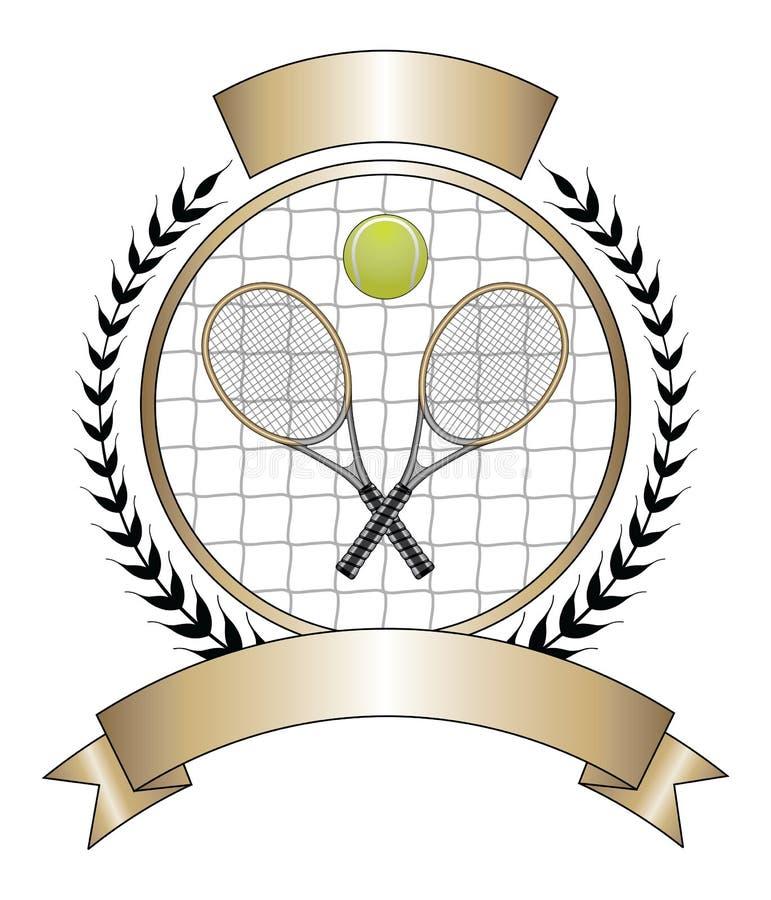 Download Tennis Design Template Laurel Stock Vector - Image: 26620610