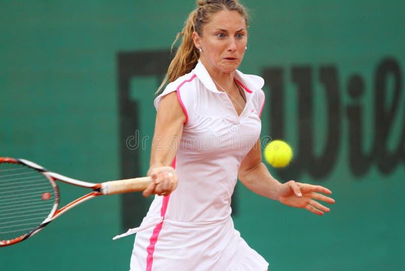 Tennis di ITF, Ana Jovanovic fotografia stock libera da diritti