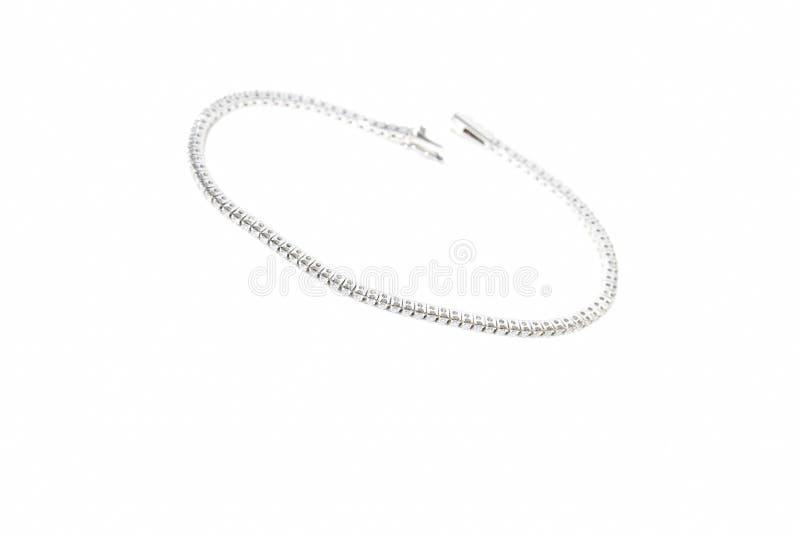 Tennis diamond bracelets stock images