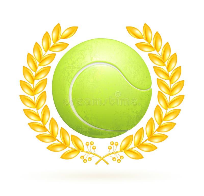 Download Tennis emblem stock vector. Image of ball, design, leader - 20181499