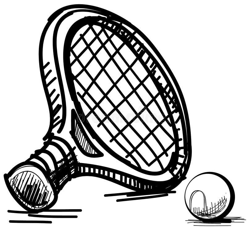 Download Tennis equipment stock vector. Illustration of illustration - 32179216