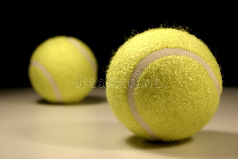 tennis för bollar iii royaltyfria bilder