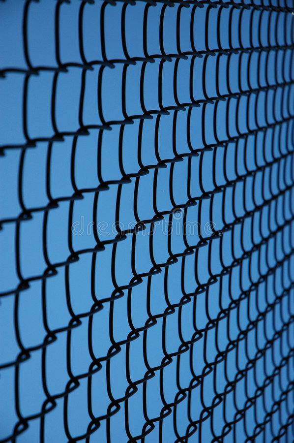 Download Tennis Fence Closeup Stock Photo - Image: 511830