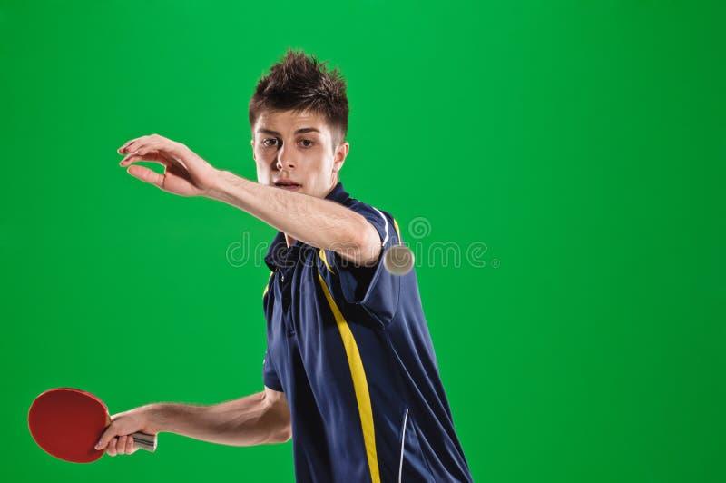 Tennis-giocatore fotografia stock