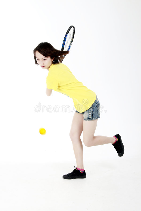 Download Tennis Girl Royalty Free Stock Photography - Image: 5795627