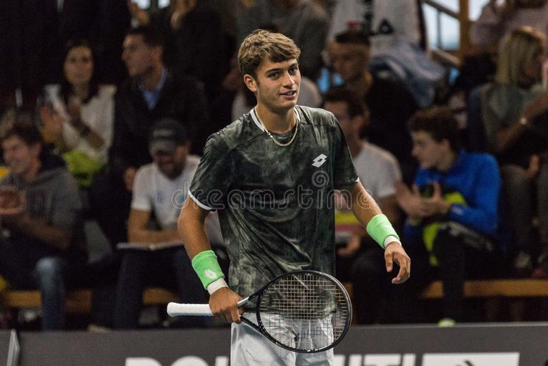 Tennis Internationals NextGen ATP-kvalifikationer royaltyfri foto