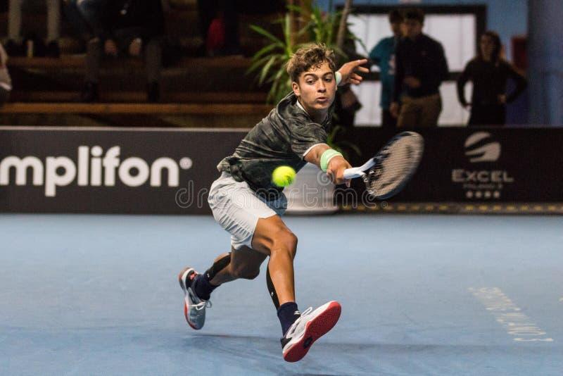 Tennis Internationals NextGen ATP-kvalifikationer royaltyfria foton